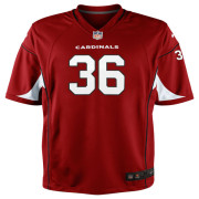 Mens Arizona Cardinals LaRod Stephens-Howling Nike Cardinal Game Jersey