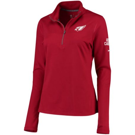 Arizona Cardinals Nike Women's Tailgate Element Half-Zip Performance Jacket – Cardinal