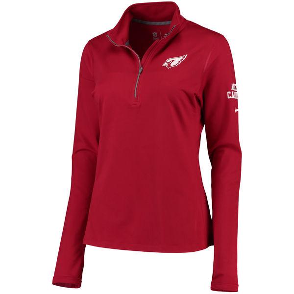 e151c340 Arizona Cardinals Nike Women's Tailgate Performance Jacket - Cardinal