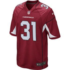 Men's Arizona Cardinals David Johnson Nike Cardinal Game Jersey