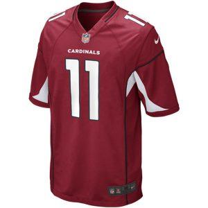 Mens Arizona Cardinals Larry Fitzgerald Nike Cardinal Game Jersey