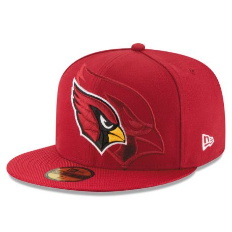 Men's Arizona Cardinals New Era Cardinal Sideline Official 59FIFTY Fitted Hat