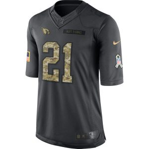 Patrick Peterson Arizona Cardinals Nike 2016 Salute to Service Jersey – Anthracite