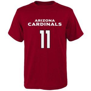 Youth Arizona Cardinals Larry Fitzgerald Cardinal Mainliner T-Shirt
