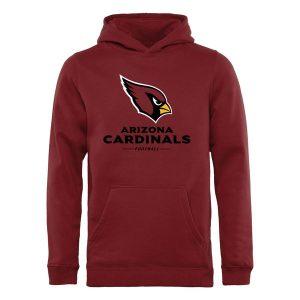 Youth Arizona Cardinals Pro Line Cardinal Team Lockup Hoodie