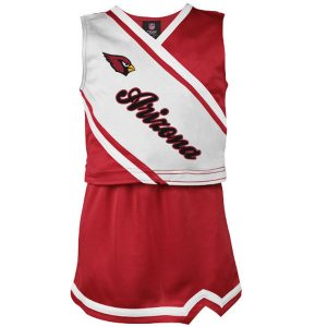 Arizona Cardinals Girls Youth 2-Piece Cheerleader Set – Cardinal