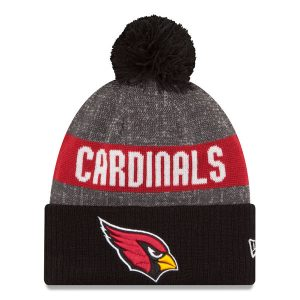 Arizona Cardinals New Era Reverse Sport Knit Hat – Heather Gray