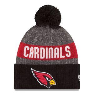 Arizona Cardinals New Era Reverse Sport Knit Hat – Heather Gray