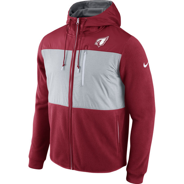 c06ee15365f0 Arizona Cardinals Nike Champ Drive Performance Full-Zip Hoodie – Cardinal