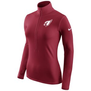 Arizona Cardinals Nike Women's Champ Drive Half-Zip Jacket – Cardinal