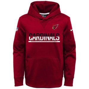 Arizona Cardinals Nike Youth Circuit Pullover Performance Hoodie – Cardinal
