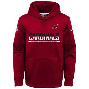 Arizona Cardinals Nike Youth Circuit Pullover Performance Hoodie – Cardinal