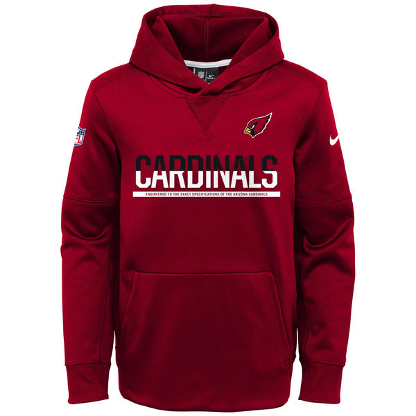 a1c60821a278 Arizona Cardinals Nike Youth Circuit Pullover Performance Hoodie – Cardinal