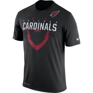 Men's Arizona Cardinals Nike Black Legend Icon Dri-FIT T-Shirt