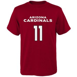 Youth Arizona Cardinals Larry Fitzgerald Cardinal Mainliner T-Shirt